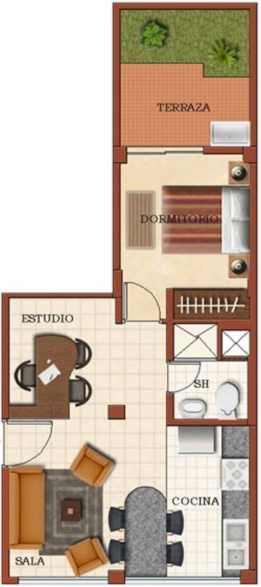 Plano De Una Casa 8x15 Con 4 Recamaras Part 4