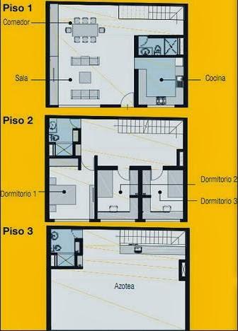 Plano de vivienda pequeña