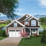 Plano de casa de campo muy amplio y tradicional