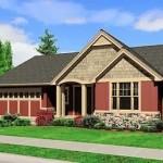 Plano de bungalow de 3 dormitorios
