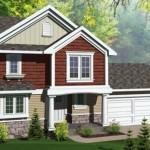 Casa de dos plantas, con garage doble y tres dormitorios