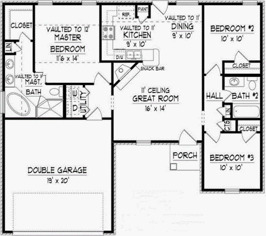 Modelos de casas a la calle en segunda planta en 10 metros for Planos de casas de una planta de 120 metros cuadrados