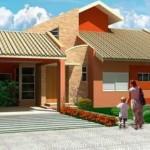 Casa de una planta, con tres dormitorios y 250 metros cuadrados