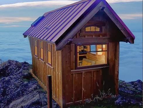 Casa para región de montaña