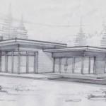 Casa rústica de tres habitaciones y dos baños