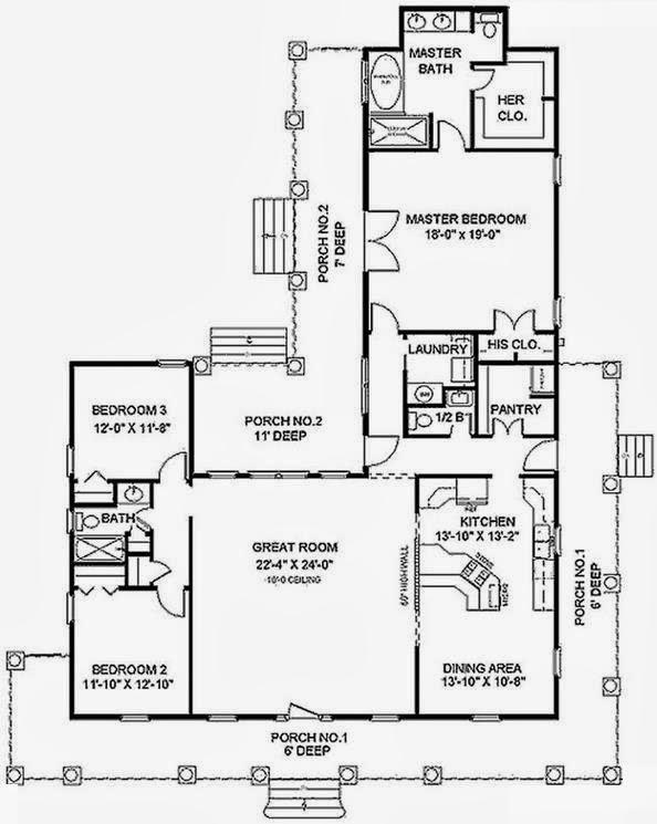 Parte de adelante y atras de la casa de vegetta 777 for Planos de casas de campo de 3 dormitorios