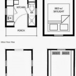 Plano de casa pequeña para región de montaña