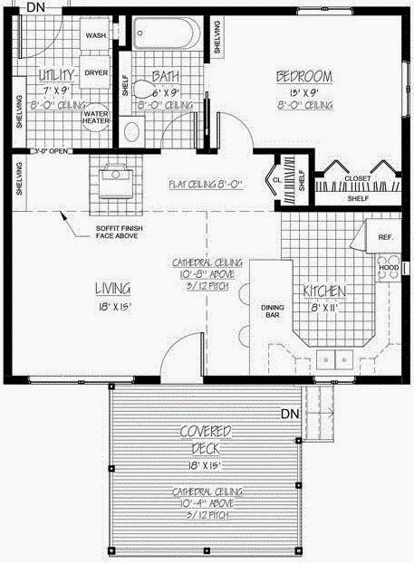 Planos de cimentacion de una casa de 9 x 16 mts cuadrados - Planos casa una planta ...