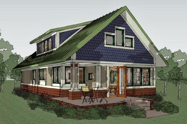 Moderna planos de casas for Modelos de casas de campo de una planta