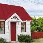 Plano de casa pequeña de 1 piso