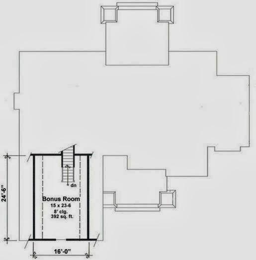 Plano de casa rústica