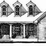 Plano de casa antigua