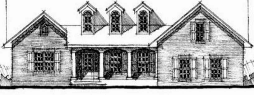 Fachada de casa antigua