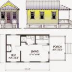 Plano de casa pequeña completo