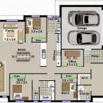 planos de casas 75 metros cuadrados