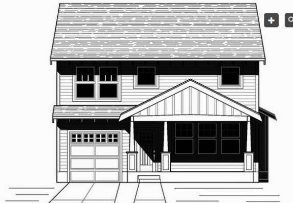 fachada de casa con porche