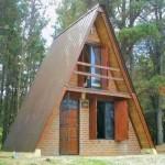 Plano de casa alpina