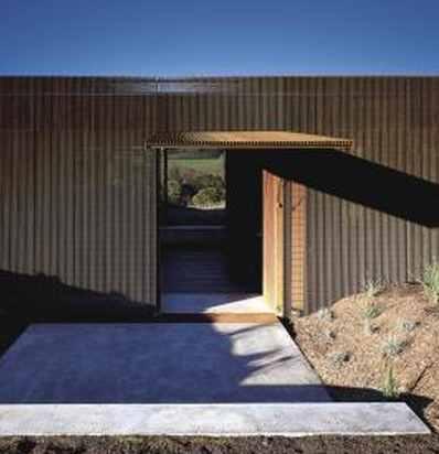 Sean Godsell Architects casa Glenburn plano esquematico
