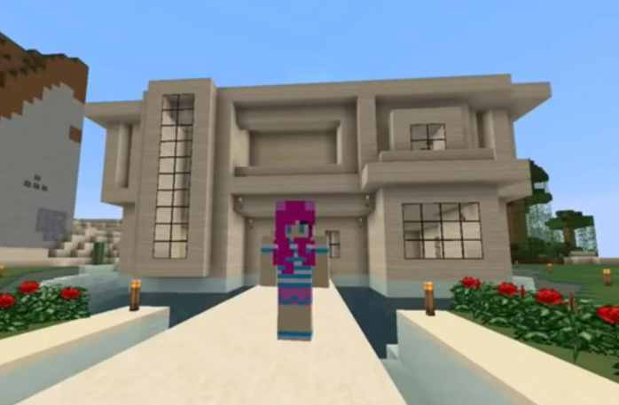 Minecraft casas imagui for Casas minecraft planos