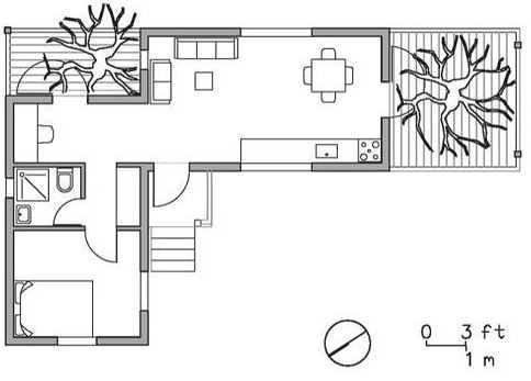 Contenedores - Fotos de casas en forma de l ...