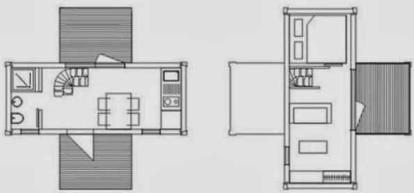 Planos de casas hechas con contenedores - Casas hechas con contenedores maritimos ...
