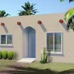 Plano de casa de 30 m2