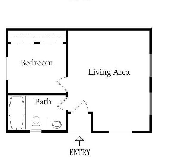 Plano de casa de 30m2