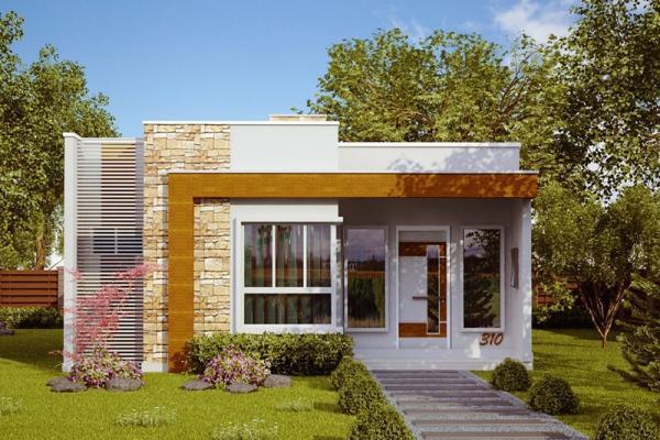 Plano de casa de 70 metros cuadrados