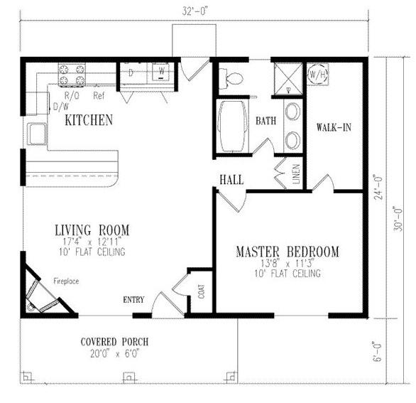 planos de casas 90m2