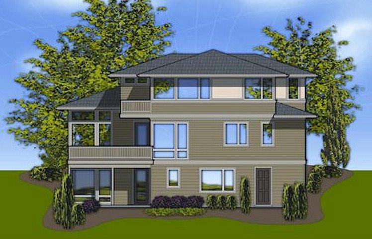 Como decorar fachadas de casas pequenas de 2 pisos for Fachadas de casas de 3 pisos modernas