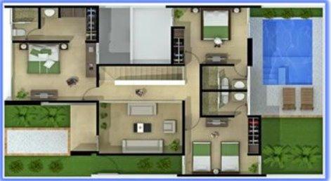 Planos de casas modernas planta baja - Casas planta baja modernas ...