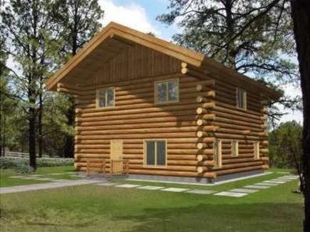 Plano de caba a - Fotos de casas de campo de madera ...