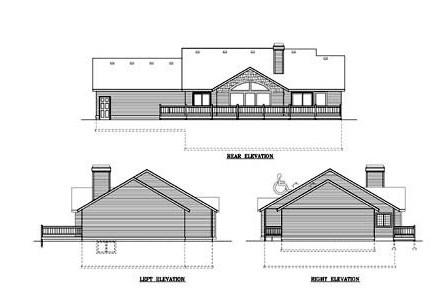 Plano de casa de 12 x 22 m