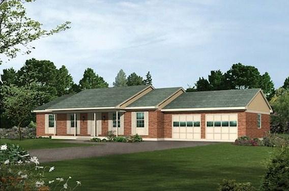 Plano de casa de 190 m2
