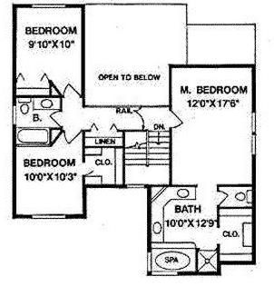 Plano de casa grande de dos pisos con cochera