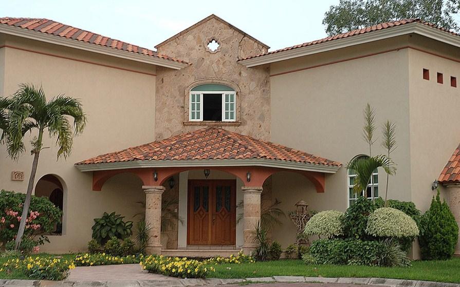 Fachadas con molduras de cantera - Piedra para exteriores casas ...
