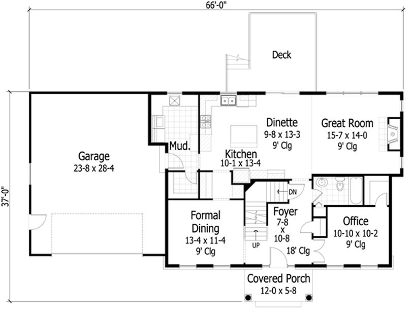 Dise o de casa lujosas for Casas estrechas y alargadas