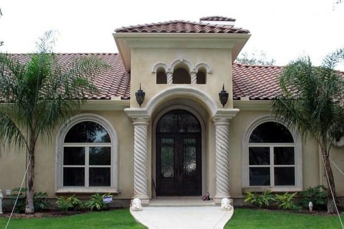 Diseno construccion fachadas 7m frente 3d planos de casas for Fachadas de casas modernas en honduras