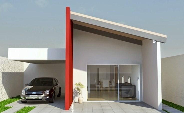 Fachadas rojas modernas