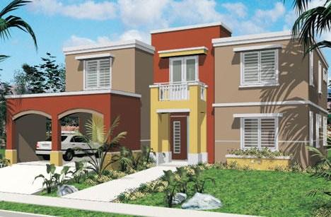 Paleta de colores para fachadas
