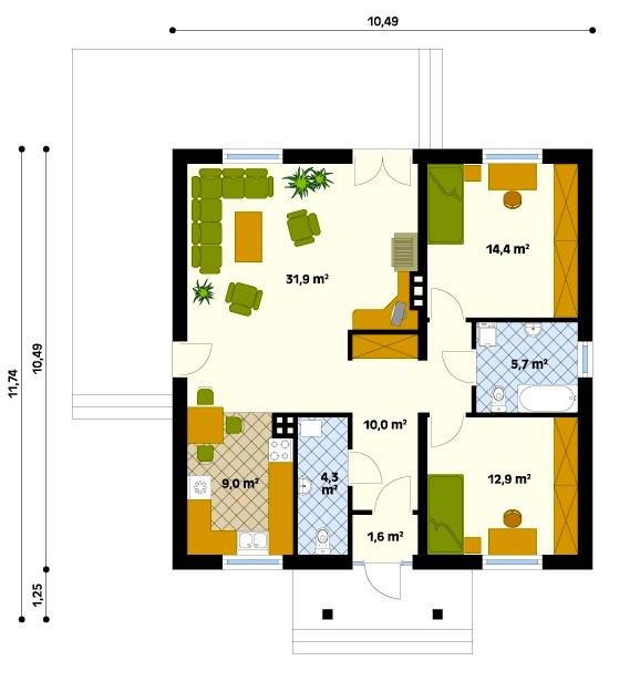 Planos para hacer una gran casa lujosa en minecraft for Hacer plano casa online