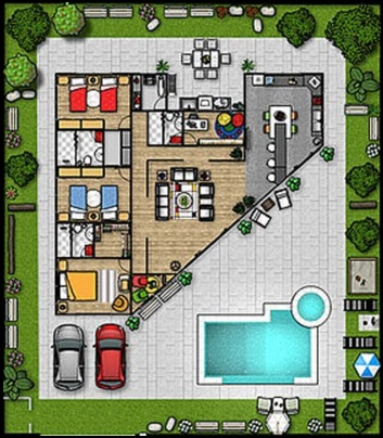 Planos de casas de 1 planta