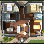 Planos de casas de una planta