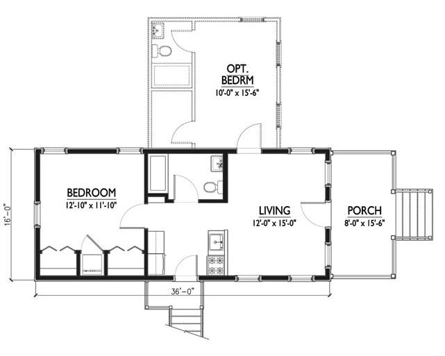Planos de casas tipo americanas