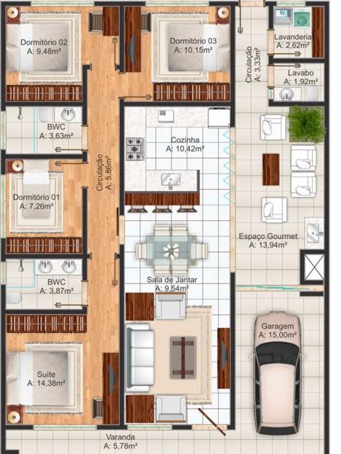 Medidas y planos de una cocina minimalista japones for Planos gratis