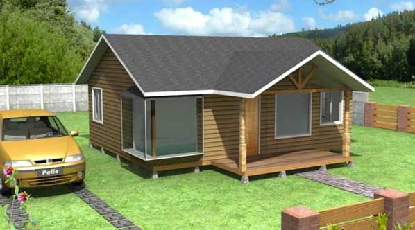 Planos de viviendas prefabricadas - Casas madera pequenas ...