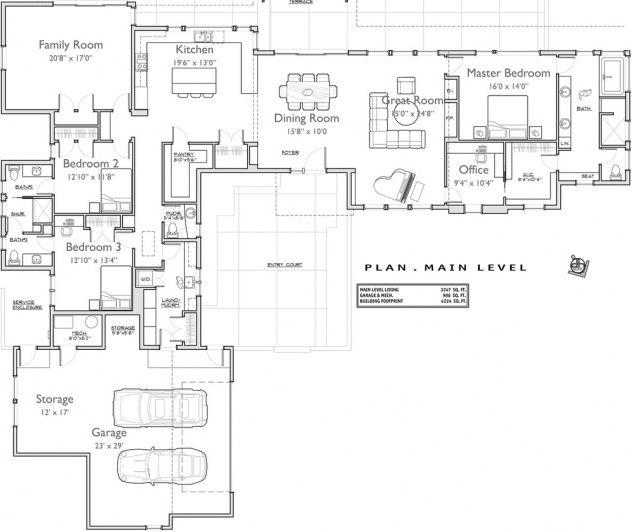 diseño planos de casas de un piso