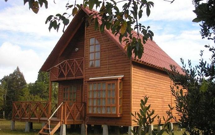 Casa de madera de 4 dormitorios