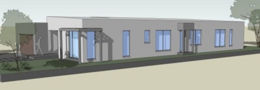 Plano de casa de 4 dormitorios