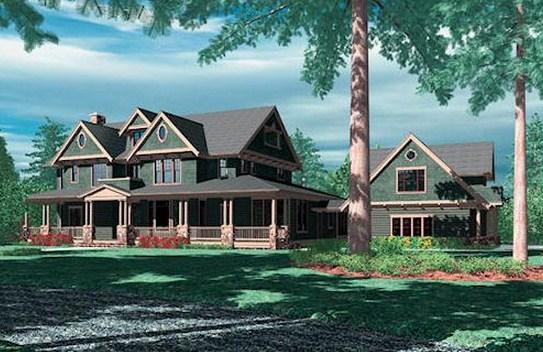 Plano de casa grande clasica